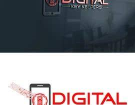 Nro 338 kilpailuun Cutting edge logo for   Digital Key Keepers käyttäjältä jaynulraj