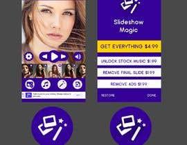 Nro 9 kilpailuun Redisign icon and a couple of screens for an app käyttäjältä HemaMaximDesign