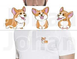 #18 for Cartoon corgi dog design af JohanGart22