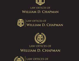 #36 para Logo Design for the Law Offices of William D. Chapman por kdmak