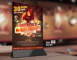 Nro 11 kilpailuun design birthday flyer käyttäjältä samadhi14