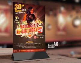 Nro 18 kilpailuun design birthday flyer käyttäjältä samadhi14