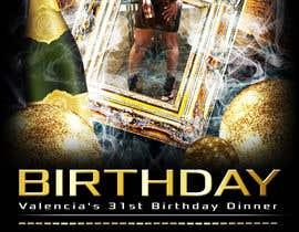 Nro 7 kilpailuun design birthday flyer käyttäjältä Tommy50