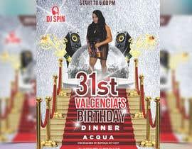 Nro 43 kilpailuun design birthday flyer käyttäjältä meenapatwal