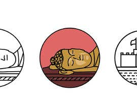 #17 for Looking for 1x1 inch 2 icons of 2 historical buddhist places. Got more work for winner by UrbanArti5t