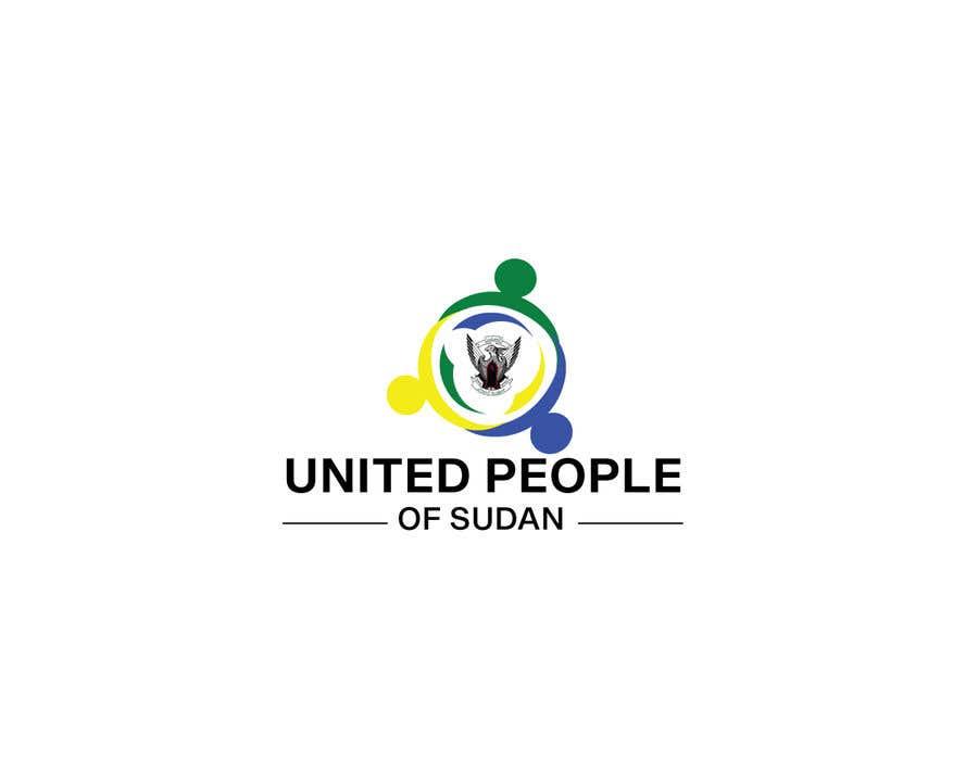 Kilpailutyö #95 kilpailussa LOGO FOR UNITED PEOPLE OF SUDAN