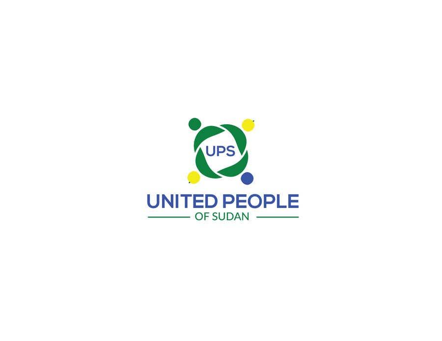 Kilpailutyö #141 kilpailussa LOGO FOR UNITED PEOPLE OF SUDAN