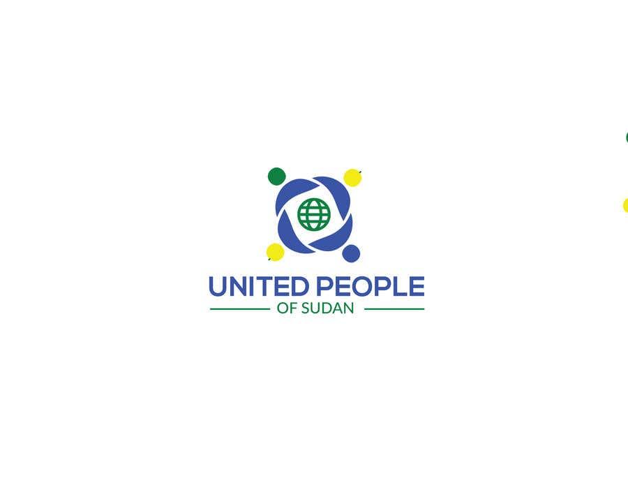 Kilpailutyö #144 kilpailussa LOGO FOR UNITED PEOPLE OF SUDAN
