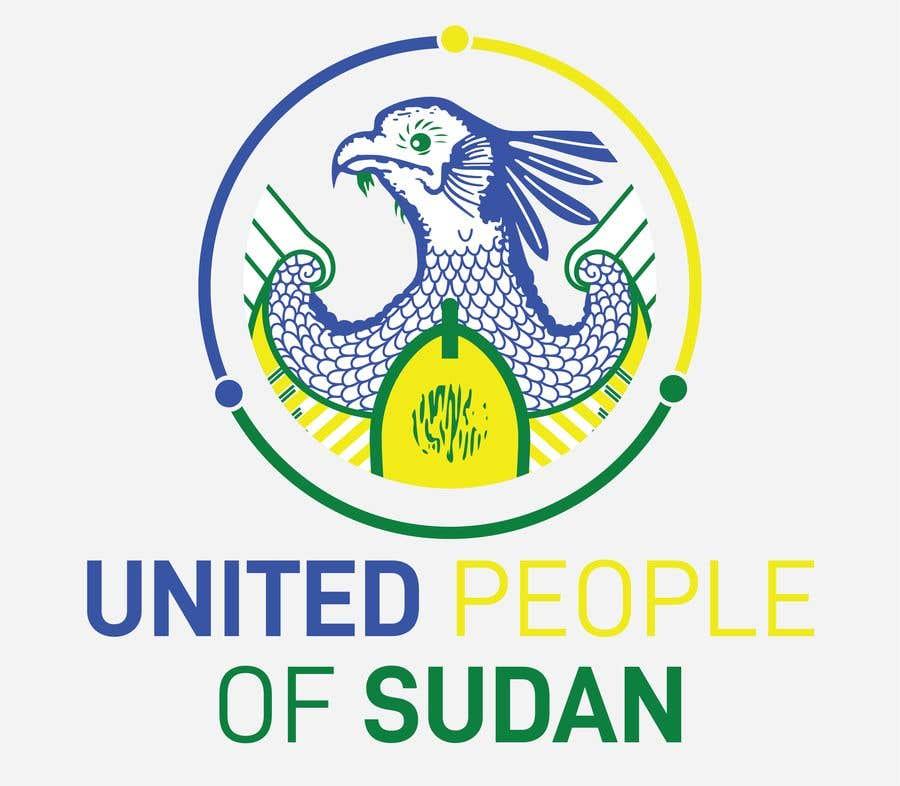 Kilpailutyö #188 kilpailussa LOGO FOR UNITED PEOPLE OF SUDAN