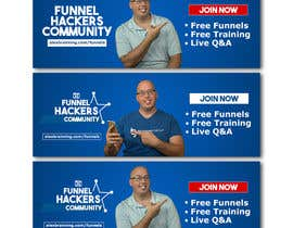 #63 for Facebook Group Cover Photo for Funnel Hackers Community by EbelaStudio