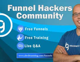 #61 for Facebook Group Cover Photo for Funnel Hackers Community by SifatSabbir