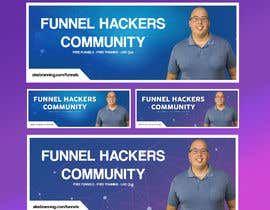 #1 for Facebook Group Cover Photo for Funnel Hackers Community by IbtihajSheikh1
