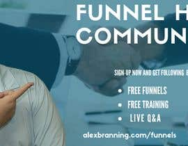 #65 for Facebook Group Cover Photo for Funnel Hackers Community by darogaburhan