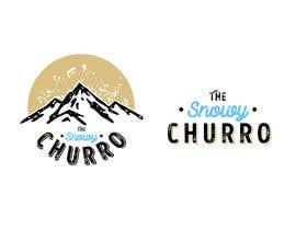 #12 for The Snowy Churro Logo af KyleCabernet