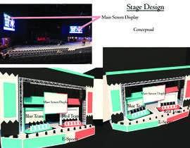 nº 32 pour Design a Digital Visually Immersive Stage for an eSports Auditorium par Paul7127