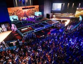 nº 23 pour Design a Digital Visually Immersive Stage for an eSports Auditorium par freemarkcasty91
