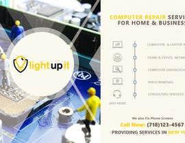 Nro 44 kilpailuun Hand flyer for computer services company käyttäjältä MRMUHAMMAD