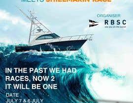 Nro 2 kilpailuun Create a boat race poster käyttäjältä eslamhalmi2