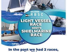 Nro 17 kilpailuun Create a boat race poster käyttäjältä oneweydesigns