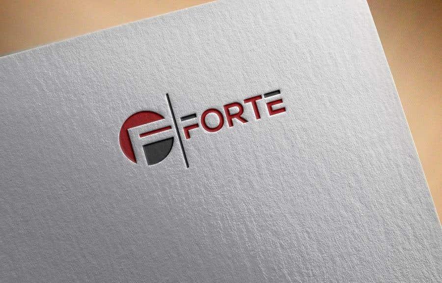 Kilpailutyö #49 kilpailussa Forte Logo