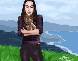 Nro 38 kilpailuun Children's Book illustrations- About a small dog käyttäjältä Artro