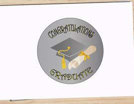 #6 for Design A Graduation Circular Pin/Button by igorsanjines