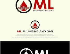 Nro 466 kilpailuun company logo design for ML PLUMING AND GAS käyttäjältä OcaDim07