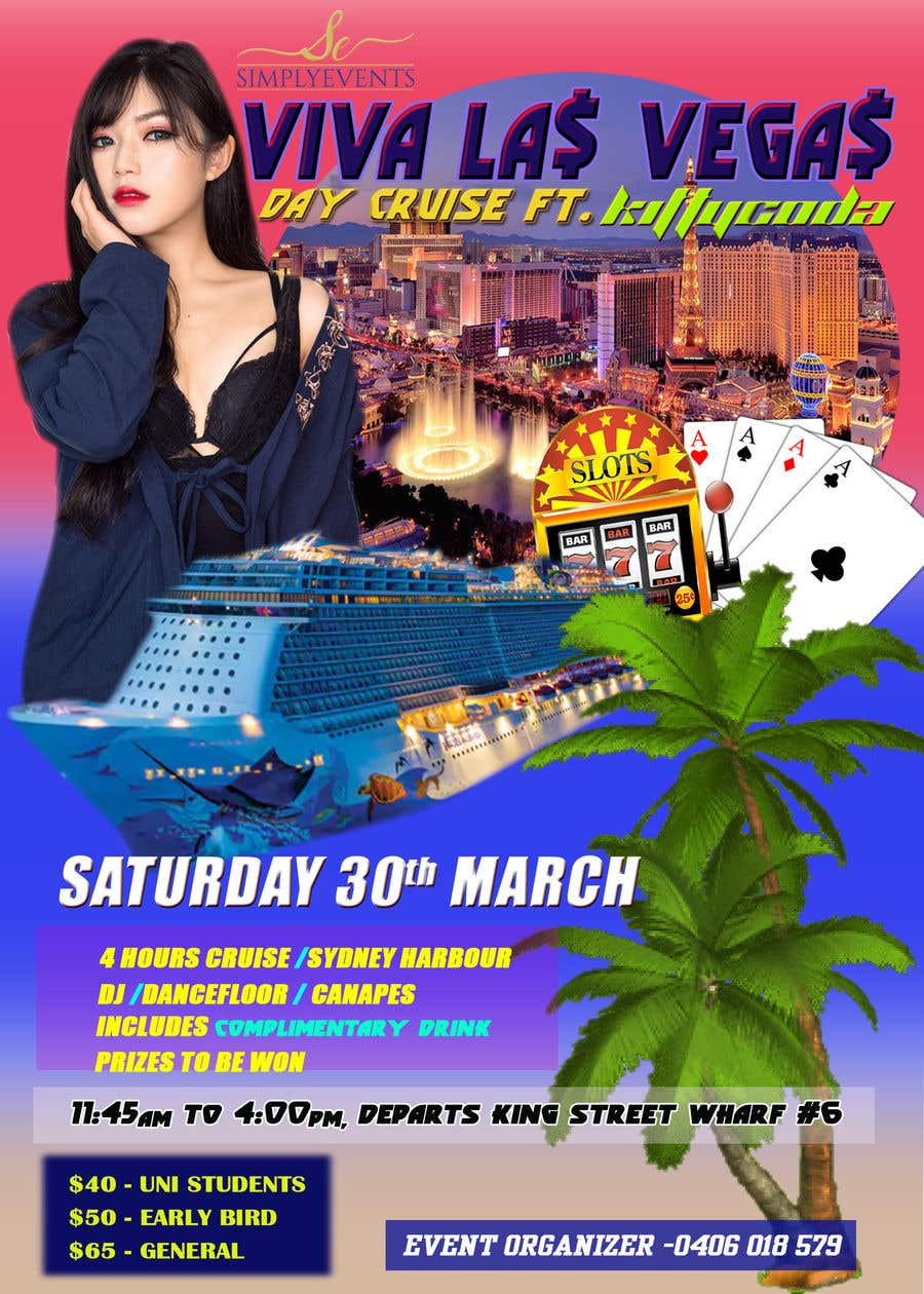Contest Entry #31 for Flyer for Cruise Party Event