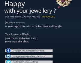 #20 for A4 and A3 size Advertisement for a Jewelry Store -- 2 by dineshdavid33
