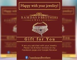 #32 for A4 and A3 size Advertisement for a Jewelry Store -- 2 by kironkpi