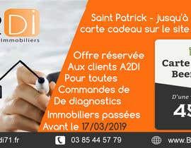 Nro 3 kilpailuun Création d'une offre facebook pour la Saint Patrick käyttäjältä daromorad