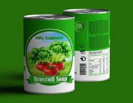 "#29 pentru I need a logo for a 2D artist. It must be a soup can with a ""Broccoli Soup"" title. de către danieledeplano"