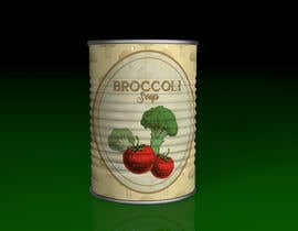 "#8 pentru I need a logo for a 2D artist. It must be a soup can with a ""Broccoli Soup"" title. de către chonoman64"