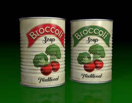 "#9 pentru I need a logo for a 2D artist. It must be a soup can with a ""Broccoli Soup"" title. de către chonoman64"