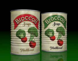 "#13 pentru I need a logo for a 2D artist. It must be a soup can with a ""Broccoli Soup"" title. de către chonoman64"