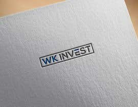 Nro 14 kilpailuun Name: WK Invest   Like minimalist design with straight lines, and Max 2-3 colors. We sell cars, property and is a very «round» company käyttäjältä heisismailhossai