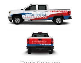 nº 112 pour Professional Business Vehicle Wrap ($625.00) par Lilytan7