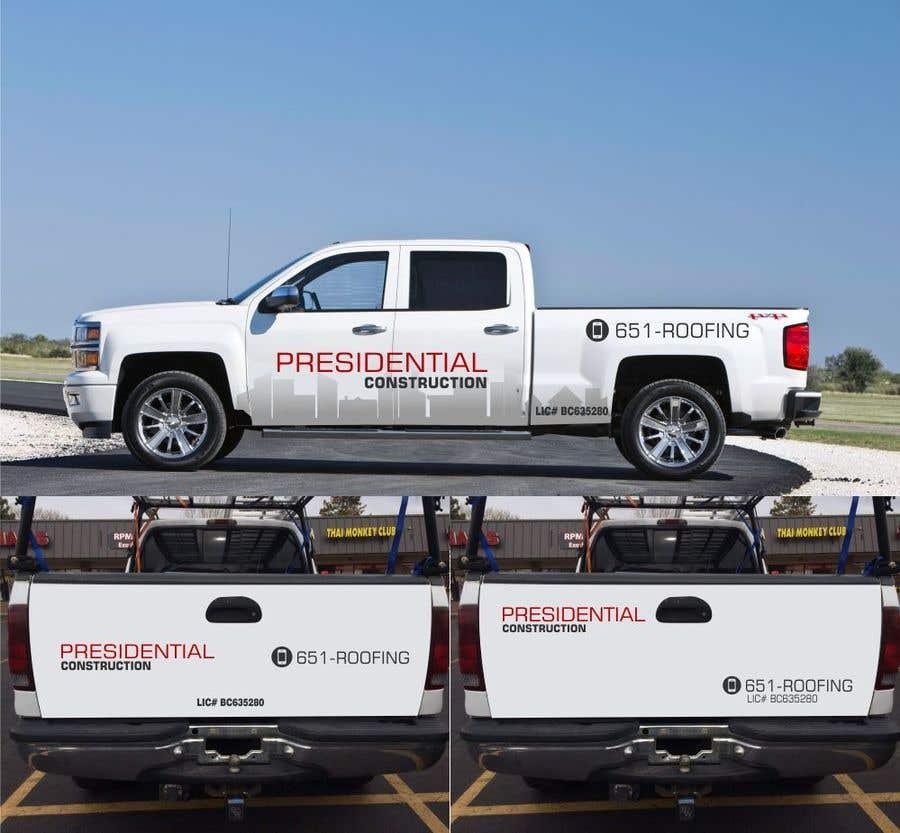Proposition n°102 du concours Professional Business Vehicle Wrap ($625.00)