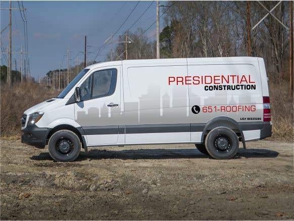 Proposition n°184 du concours Professional Business Vehicle Wrap ($625.00)