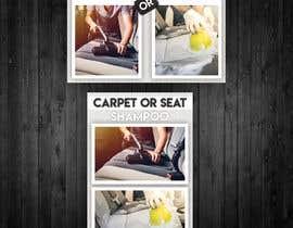 """#28 untuk Sign/Poster for """"Carpet or Seat Shampoo"""" oleh awaisahmedkarni"""