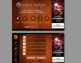 #54 для Vapemenu Tablet App Redesign Contest от transformindesi9