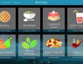 #4 для Vapemenu Tablet App Redesign Contest от VMarian