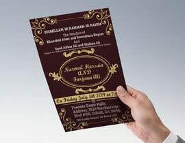 #58 for Need a Wedding Invitation Card by Asadaz