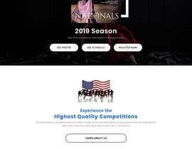 arafathhshemanto tarafından 2019 USA Dance National Dancesport Championship Web Page için no 23