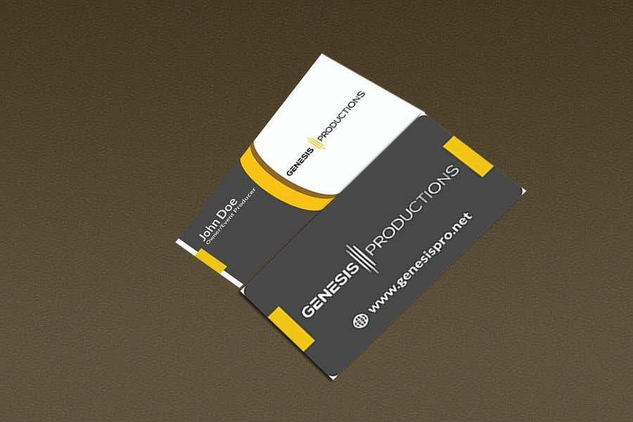 Penyertaan Peraduan #195 untuk Business Card Layout