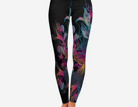 #316 для Design futuristic leggings for sublimation print от Designersohag