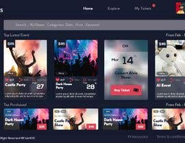 #28 untuk Design UI/UX for event ticketing web app (desktop & mobile) oleh webdeper