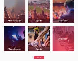 #36 untuk Design UI/UX for event ticketing web app (desktop & mobile) oleh doomshellsl