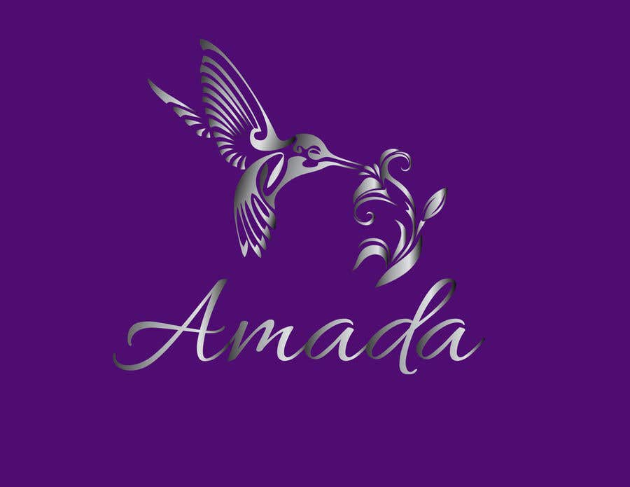 """Konkurrenceindlæg #6 for Logo for a jewelry called """"Amada"""""""