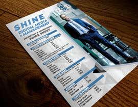 #37 for design digital flyer (((price sheet flyer))) af mirandalengo
